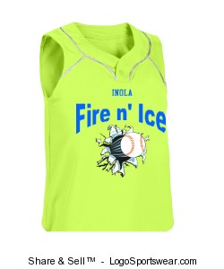 Youth Girls Turn Two Softball Jersey Design Zoom